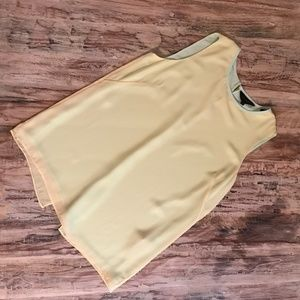 Ted Baker Layered Open Back Tank Top